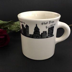 Vintage NYC Skyline Homer Laughlin Mug Twin Towers